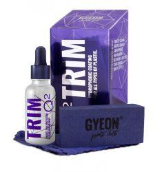 Gyeon Trim Q2 műanyag, gumi és fényszóróbúra coating 30ml-es szett!