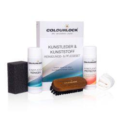 Colourlock Kunstleder szett műbőr tisztító és ápoló szett 150ml-es