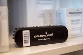 Colourlock kefe bőr felületekhez nagy fekete