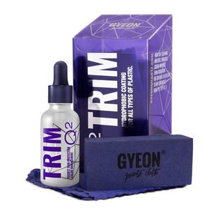 Bemutatkozik a Gyeon Trim Q2 – a műanyag, gumi és fényszóróbúra láthatatlan védőszere